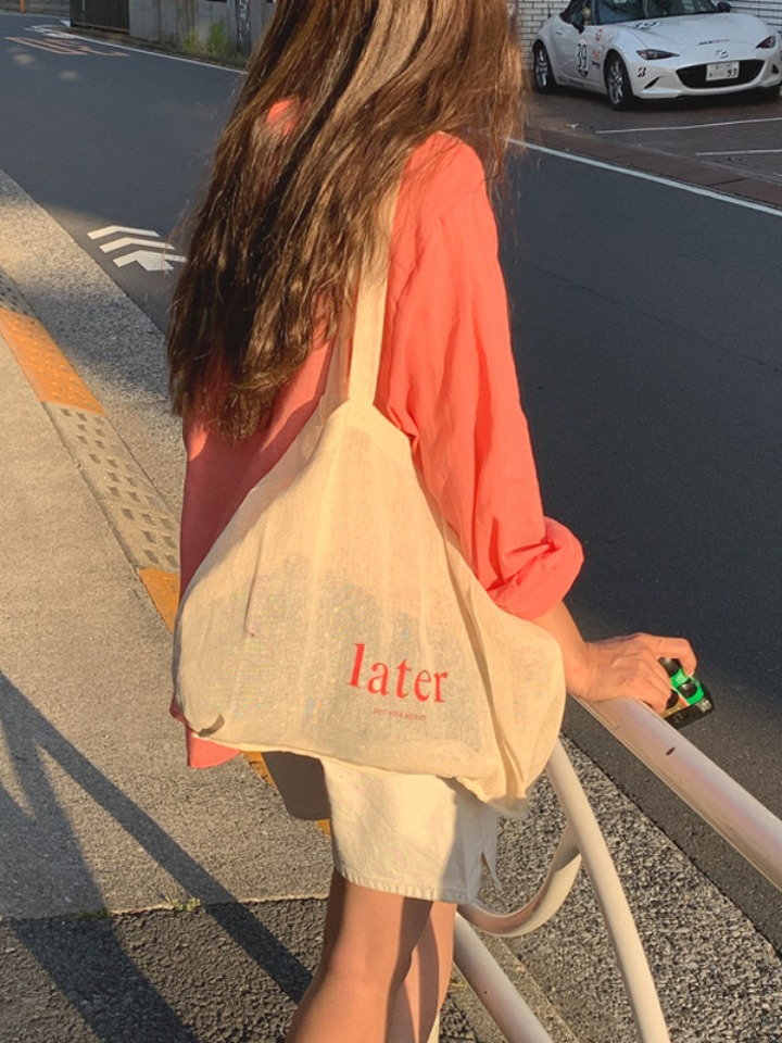 [Made] later bag, 린넨 60%