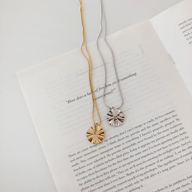 컨더 necklace (2 color)
